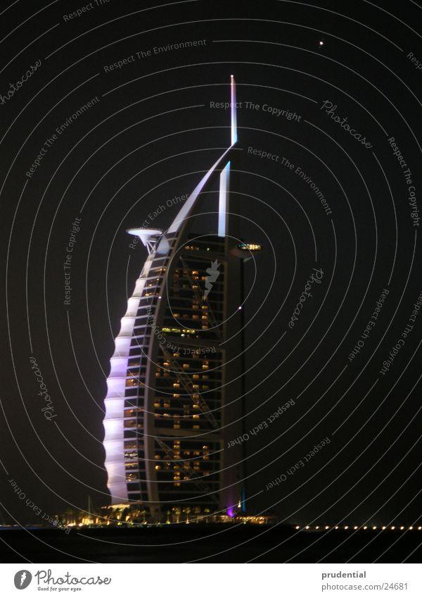 burj al arab, dubai jumeirah beach Dubai Nacht Burj Al-Arab Hotel tower of arabia turm von arabien