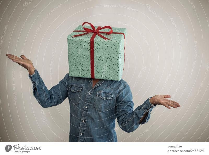 Die Geschenk Idee Mann Weihnachten & Advent schön Erholung Freude Erwachsene Gesundheit sprechen Glück Business Party Feste & Feiern Kopf Zufriedenheit