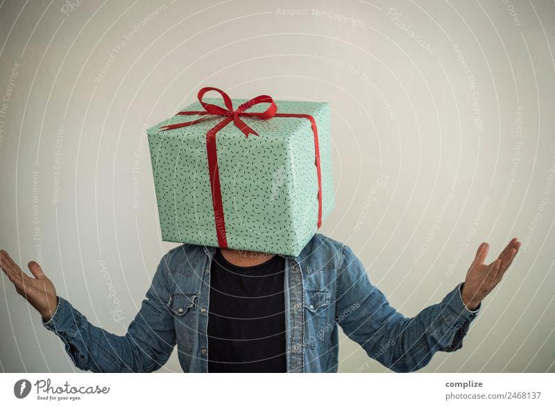 Mann schenkt!? kaufen Reichtum Freude Glück Gesundheit Freizeit & Hobby Party Flirten Feste & Feiern Valentinstag Muttertag Weihnachten & Advent Hochzeit