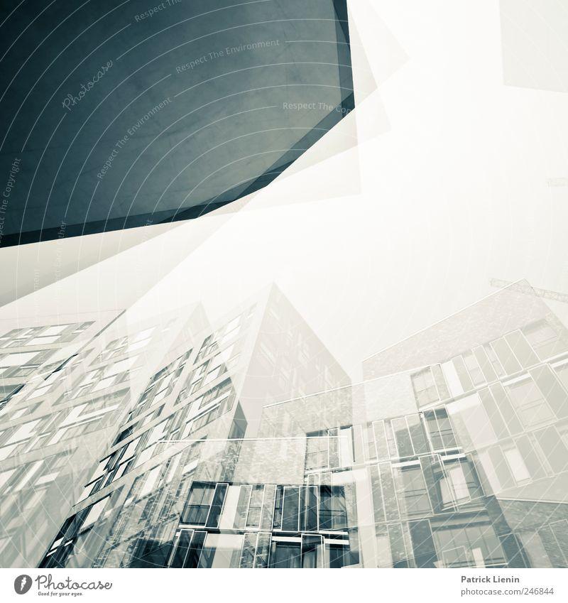 Geisterstadt Stadt Baum Haus Umwelt Architektur Gebäude Park Freizeit & Hobby Platz Energie ästhetisch verrückt Perspektive neu retro