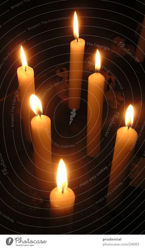 kerzen Kerze Licht 6 Physik Häusliches Leben Wärme
