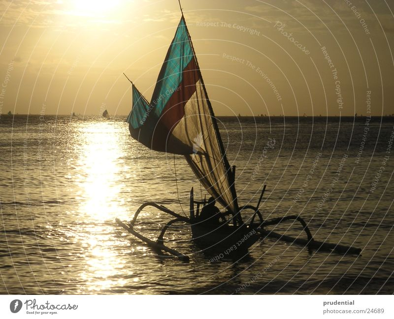 boat Meer Wasserfahrzeug Morgen