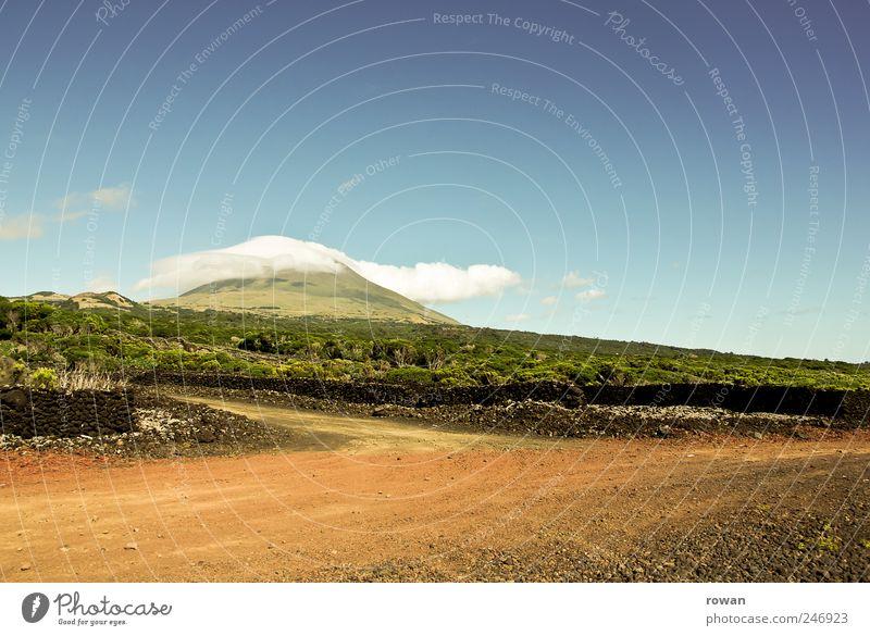 pico Natur Pflanze Sommer Straße Berge u. Gebirge Landschaft Umwelt Sand hell Erde Feld Hügel heiß Kies Schönes Wetter Pico