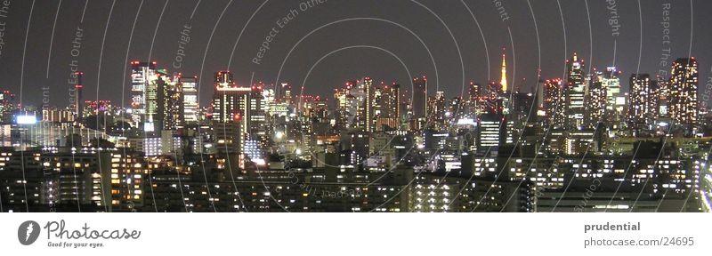 tokyo tokio Nacht Langzeitbelichtung Tokyo dunkel Erfolg Licht