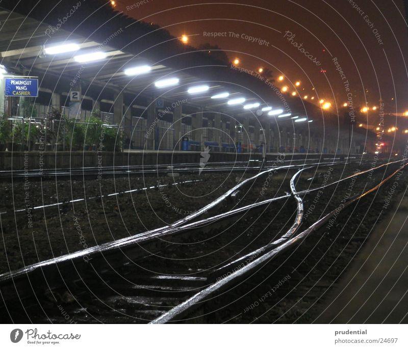 wohin geht die reise Verkehr Bahnhof