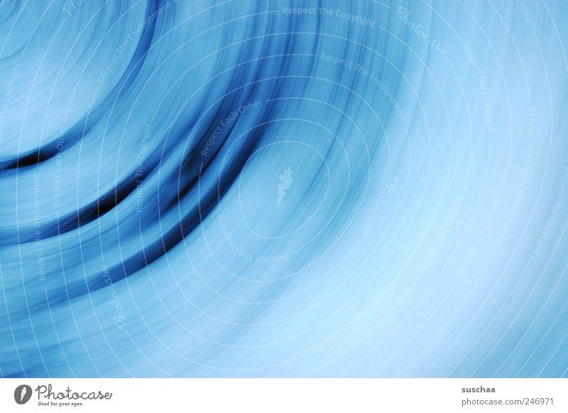 blau .. Bewegung rund Streifen außergewöhnlich Dynamik drehen rotieren