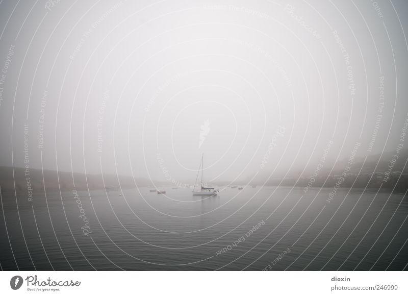 Le Conquet [1] Himmel Wasser Ferien & Urlaub & Reisen Meer Ferne kalt Umwelt Küste Wetter Ausflug Nebel Insel Tourismus Klima Hafen Bucht