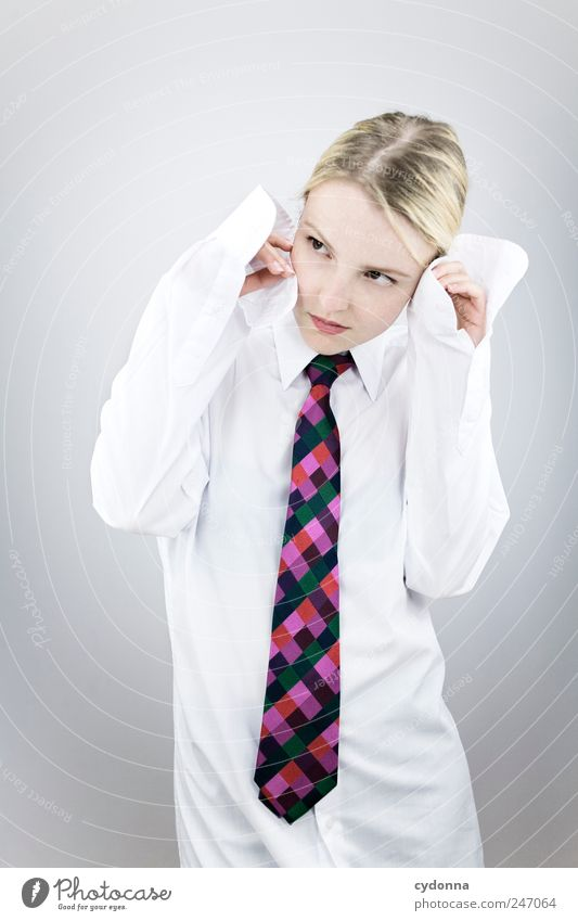 Frauenquote Mensch Jugendliche schön Leben Freiheit Stil Erwachsene träumen Business Arbeit & Erwerbstätigkeit Mode Erfolg Lifestyle Pause einzigartig Bildung
