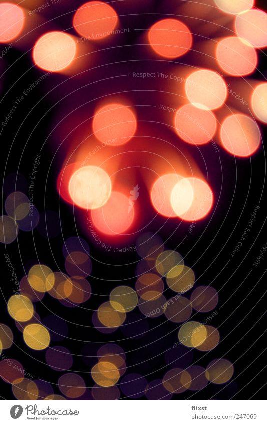 Feuerwerk mal anders Himmel Sommer Glück Perspektive Optimismus Begeisterung Euphorie
