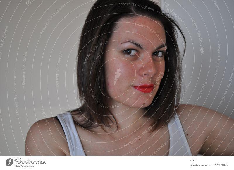 beste freundin Mensch Jugendliche weiß schön rot Gesicht feminin Haare & Frisuren Glück Erwachsene braun Kraft frei natürlich Coolness