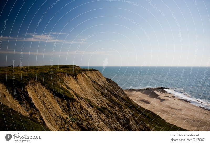 DÄNEMARK - XX Himmel Natur Wasser schön Pflanze Sommer Strand Wolken Ferne Landschaft Gras Umwelt Küste Wellen Horizont Kirche