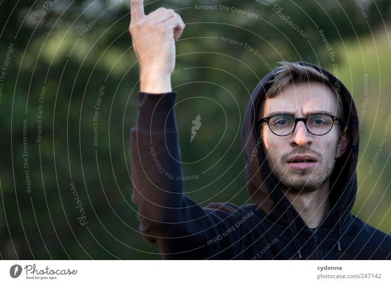 Die Grillprofis: Der Wind muss stimmen Lifestyle Stil Freiheit Mensch Junger Mann Jugendliche Gesicht 18-30 Jahre Erwachsene Umwelt Natur Brille Beratung