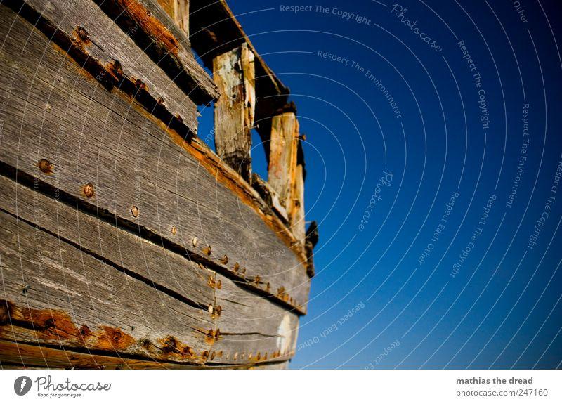 DÄNEMARK - XXII Himmel Wasser alt ruhig Holz Luft ästhetisch trist authentisch außergewöhnlich trocken Rost historisch Schifffahrt Schönes Wetter Nagel