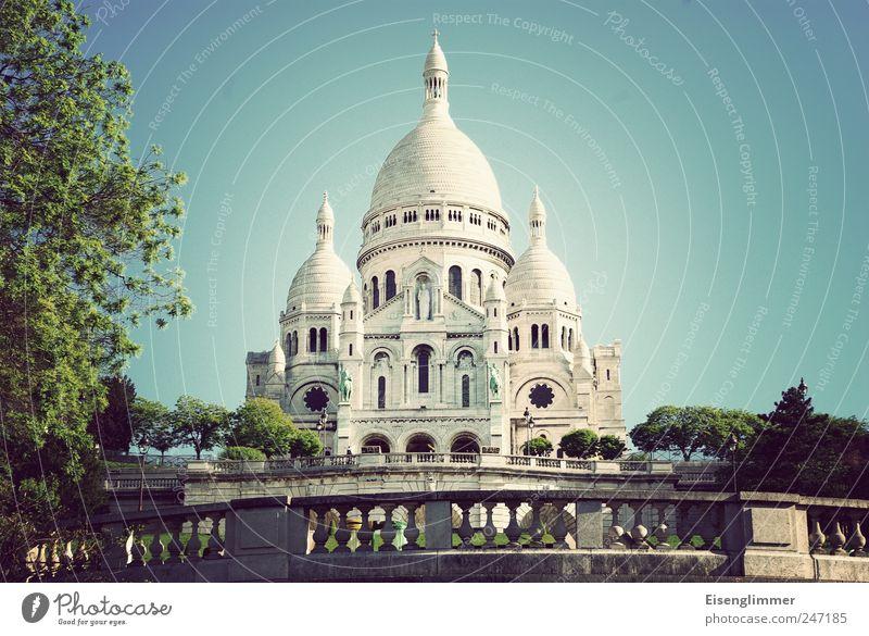 Sacré Coeur alt Kirche Europa Paris Frankreich Hauptstadt Basilika Sacré-Coeur