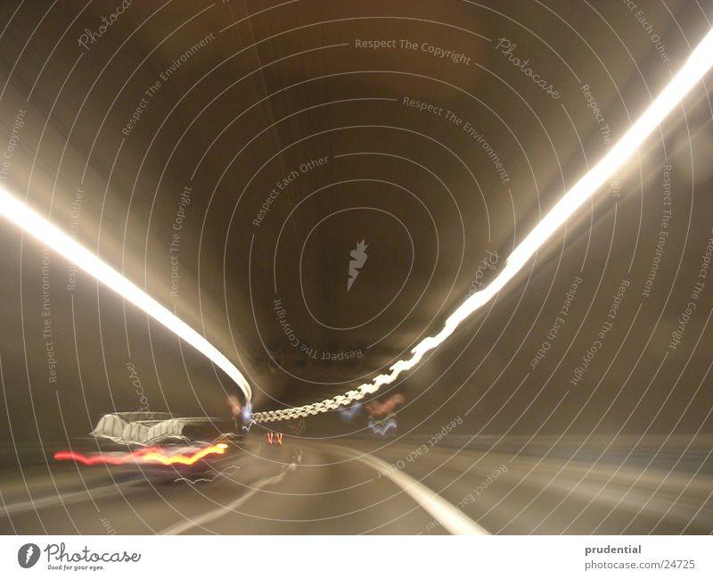 tunnel 2 Verkehr Geschwindigkeit Tunnel Kurve