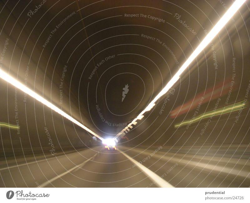 tunnel 1 Tunnel Licht Geschwindigkeit Verkehr Ende