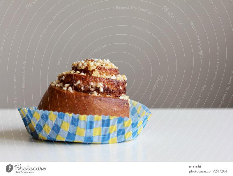 Schneckenbau Lebensmittel Dessert Süßwaren Ernährung süß braun Muffin Zucker lecker Appetit & Hunger Kalorie Farbfoto Innenaufnahme backen