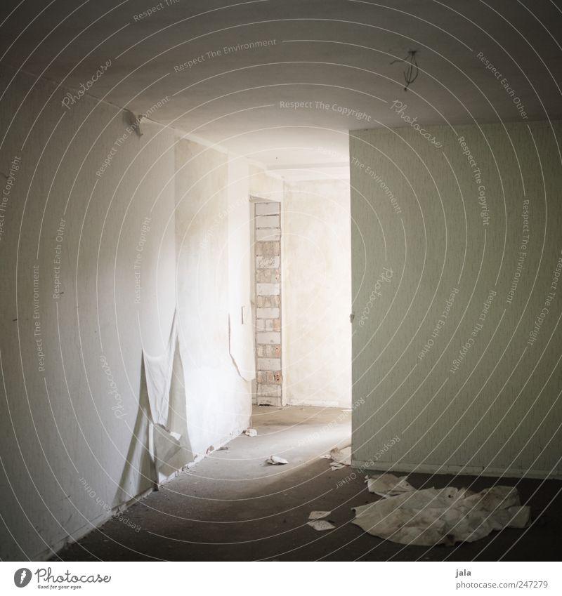 licht Wand Raum Wohnung kaputt Häusliches Leben Tapete Verfall