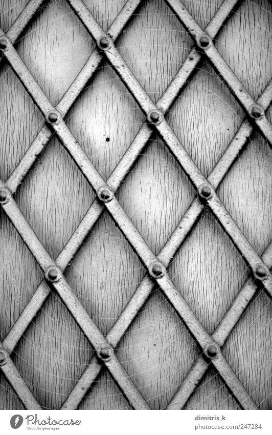 Metallfensterladen Kunst Fenster Holz Stahl alt dreckig Fensterladen Metallbearbeitung bügeln Farbe Grunge Rust Hintergrundbild Konsistenz diagonal geometrisch