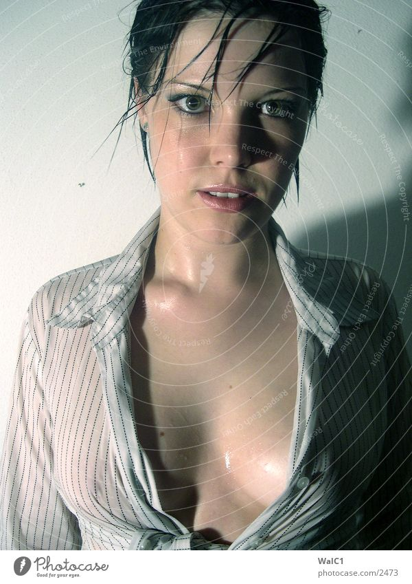 Mädchen 5 Erotik nackt Frau Porträt Dame Haut