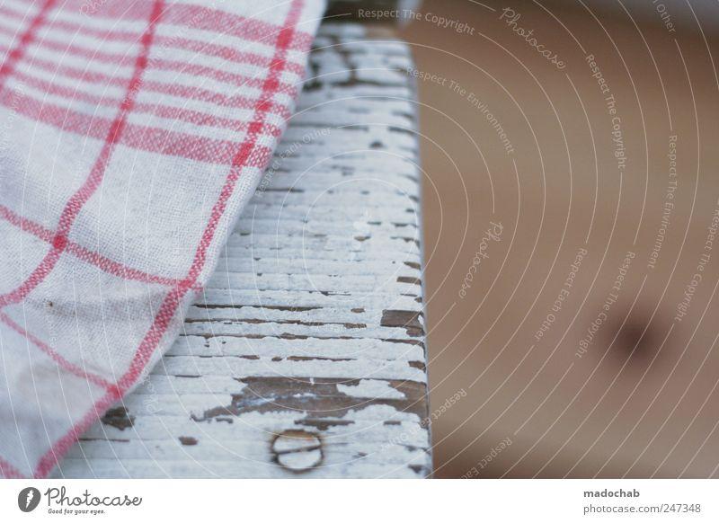 Strukturwandel Häusliches Leben Dekoration & Verzierung kariert Küchenhandtücher Maserung Patina Hocker Flur Bodenbelag Farbfoto Gedeckte Farben mehrfarbig