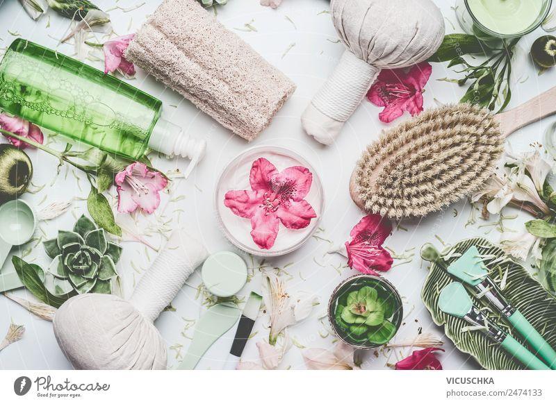 Spa , Massage, Kosmetik and Wellness Zubehör Natur Pflanze schön Blume Gesundheit Stil Design Dekoration & Verzierung kaufen Kräuter & Gewürze Sammlung