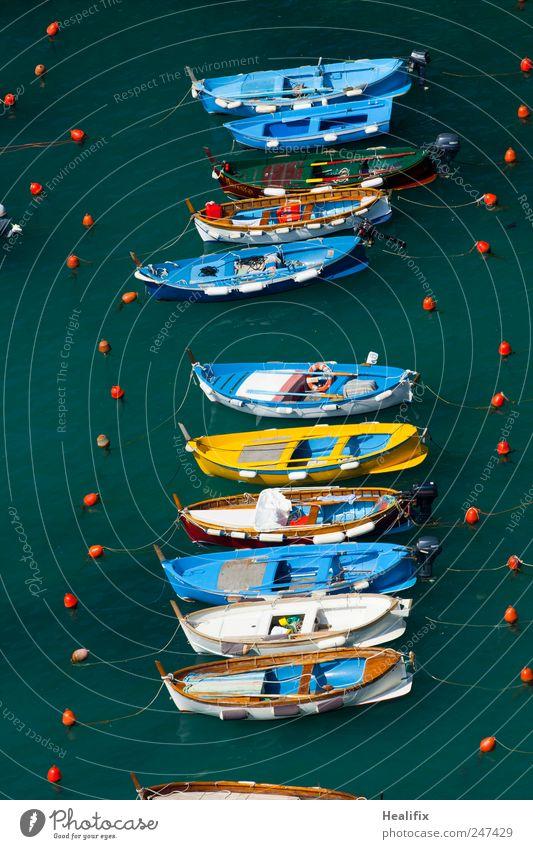 boat trip Natur Wasser blau Meer Ferien & Urlaub & Reisen Arbeit & Erwerbstätigkeit Schwimmen & Baden Verkehr Tourismus Hafen Italien fangen Landwirtschaft