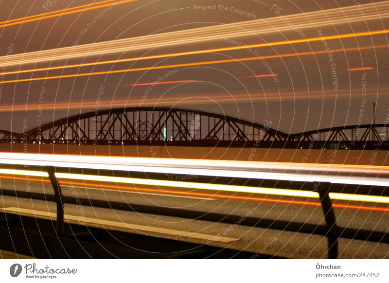 RheinBridges ... LightfulDesire Sommer Ferne Straße Architektur Freiheit Kunst Wetter Verkehr Feuer ästhetisch Brücke Industrie Fluss Hafen Medien Skyline