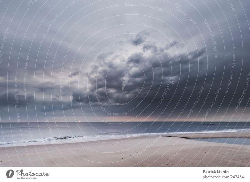 Imagine no possessions Himmel Natur Ferien & Urlaub & Reisen Sommer Meer Strand Wolken ruhig Ferne Erholung Umwelt Freiheit Sand Stimmung Wind Zufriedenheit