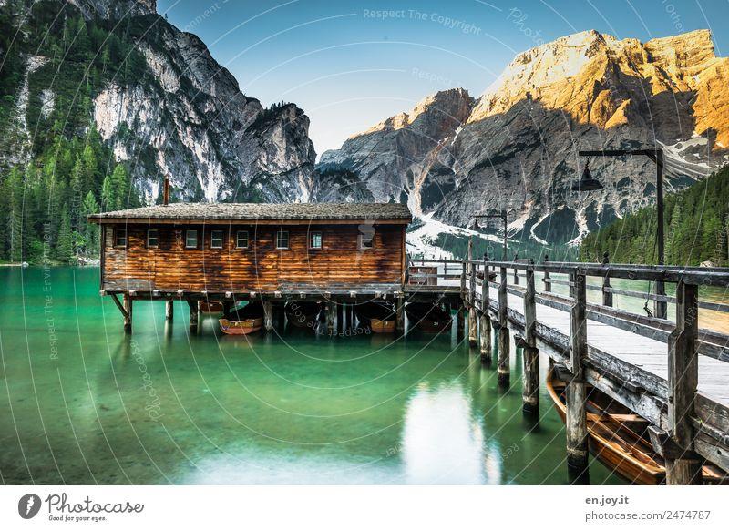 Un passo dal cielo Natur Ferien & Urlaub & Reisen Sommer Landschaft Erholung ruhig Berge u. Gebirge Tourismus See Ausflug Freizeit & Hobby Idylle Abenteuer