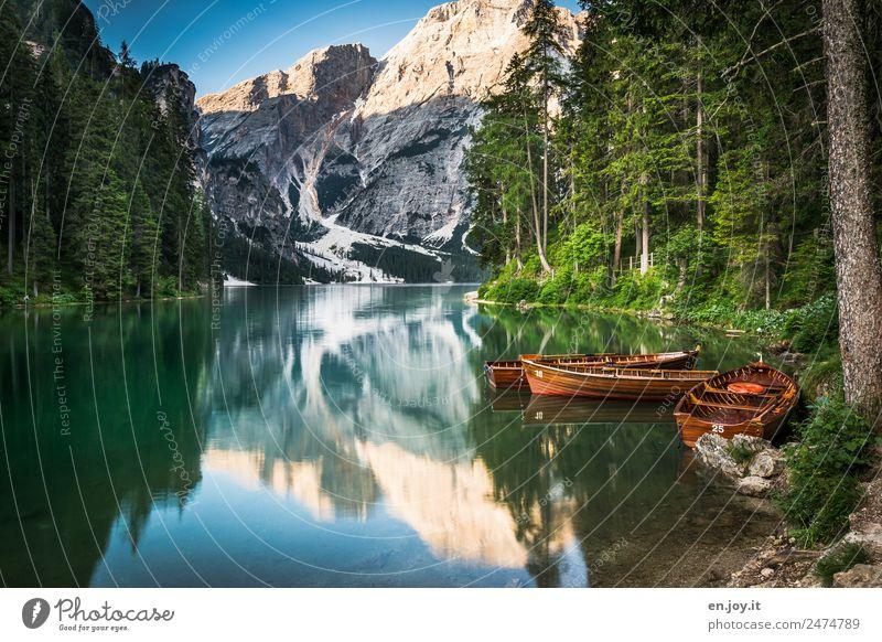 Traumhaft Natur Ferien & Urlaub & Reisen Sommer Landschaft Erholung Einsamkeit ruhig Wald Berge u. Gebirge Tourismus See Ausflug Freizeit & Hobby Idylle