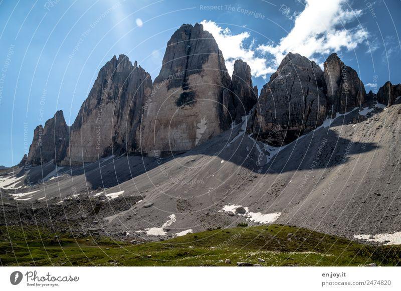 Verfall Natur Ferien & Urlaub & Reisen Sommer Landschaft Erholung Berge u. Gebirge Senior Wiese Zeit Tourismus Felsen Ausflug wandern Abenteuer einzigartig