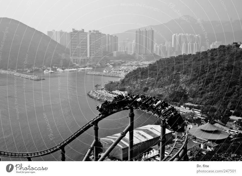 Life is a rollercoaster Freizeit & Hobby Ferien & Urlaub & Reisen Ferne Haus Berge u. Gebirge Bucht Meer Hongkong China Asien Stadt Hochhaus fahren genießen