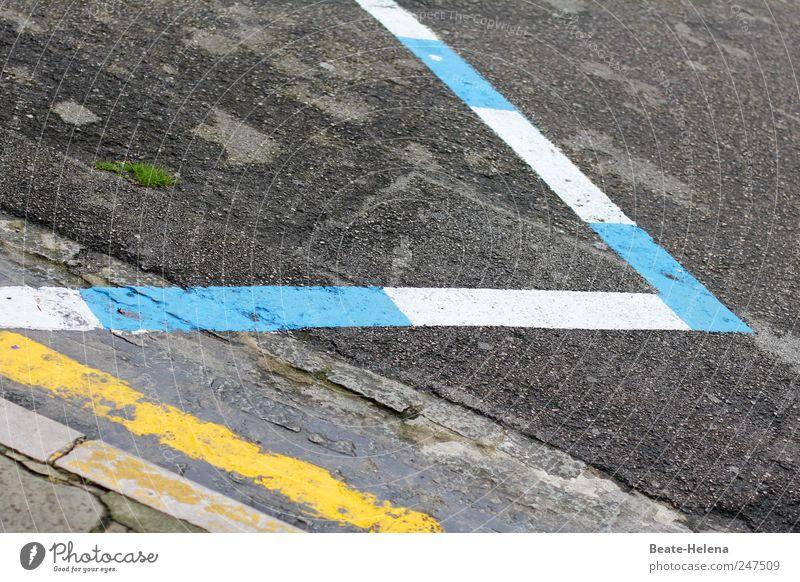 """Das spanische """"Z"""" Sommer Sommerurlaub Straße Zeichen Hinweisschild Warnschild Verkehrszeichen blau gelb weiß Genauigkeit Dienstleistungsgewerbe Straßenverkehr"""