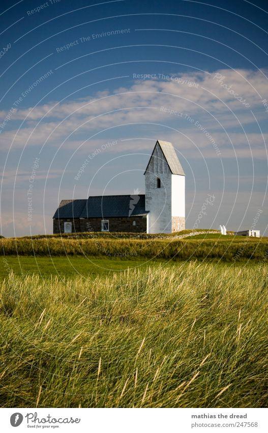 DÄNEMARK - XXVIII Himmel Natur schön Wolken ruhig Einsamkeit Wiese Fenster Umwelt Landschaft Gebäude Religion & Glaube Feld Tür Horizont Fassade