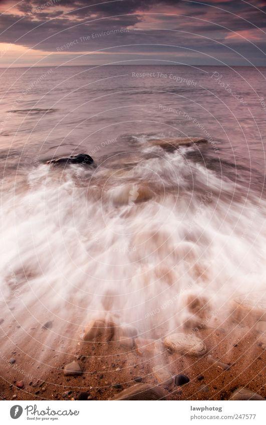 Natur Wasser schön Strand Landschaft Sand Küste Stimmung Wellen Felsen Insel Schönes Wetter