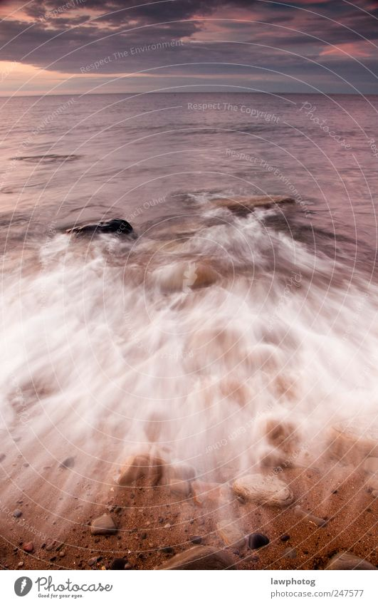 wellen @ st mary's island Natur Landschaft Sand Wasser Sonnenaufgang Sonnenuntergang Schönes Wetter Felsen Wellen Küste Strand Insel schön Stimmung Farbfoto