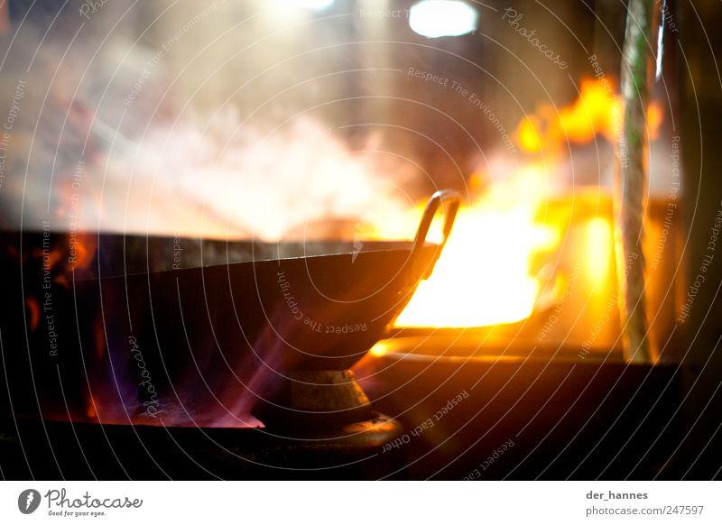 wokkldiwog gelb Feste & Feiern wild Lebensmittel Küche heiß Duft exotisch Schalen & Schüsseln Asien Chinatown Asiatische Küche Wok Kuala Lumpur Garküche