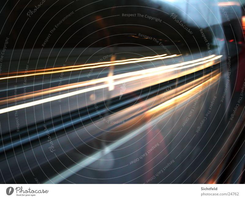 Zeitreise Belichtung Verkehr Licht Langzeitbelichtung Ferien & Urlaub & Reisen Bus Straße