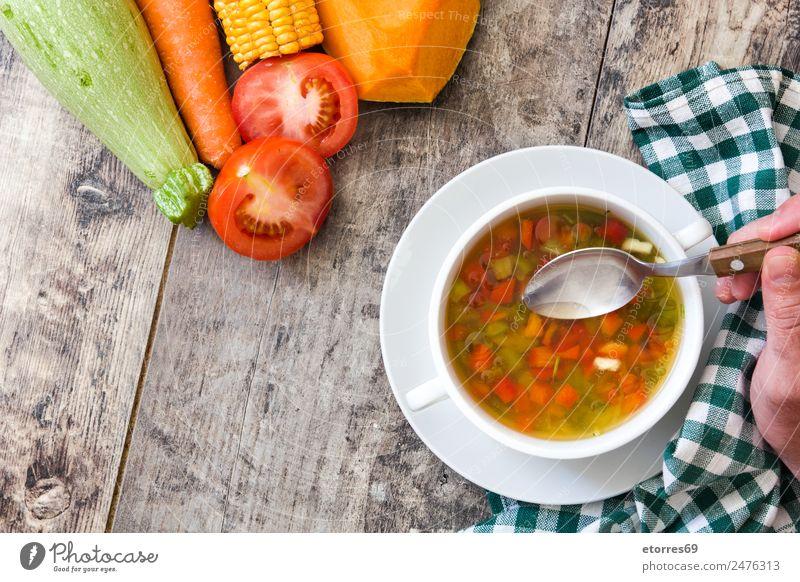 grün weiß rot Foodfotografie Essen natürlich Holz Lebensmittel orange Ernährung Kräuter & Gewürze Getränk Gemüse Bioprodukte Schalen & Schüsseln Abendessen