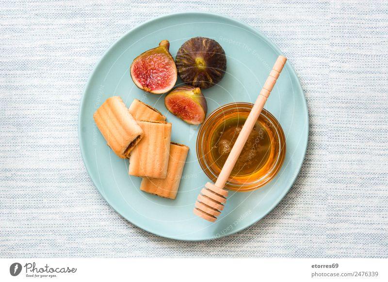 Feigenkekse auf weißem Holztisch Plätzchen Kekse Frucht Lebensmittel Gesunde Ernährung Foodfotografie Gesundheit frisch Antioxidans roh süß tropisch Dessert