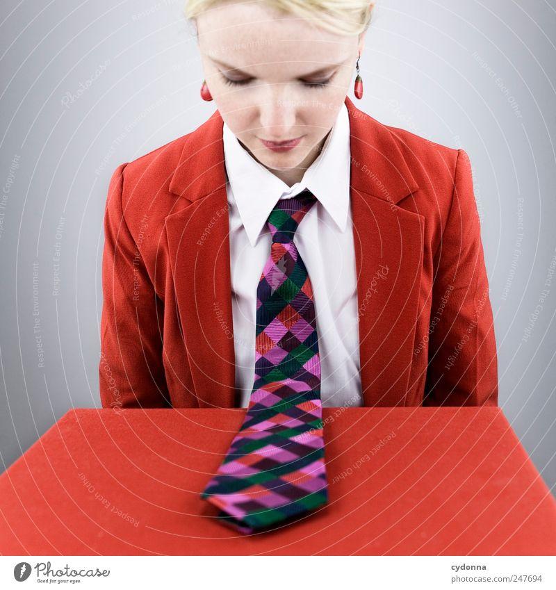 Schnipp Schnapp Mensch Jugendliche Stil Erwachsene Business Arbeit & Erwerbstätigkeit Erfolg Lifestyle einzigartig Bildung Geldinstitut Beruf Vertrauen