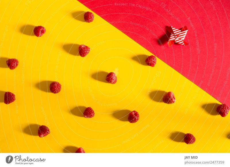 Natur Sommer Farbe rot gelb natürlich Frucht Ernährung Aussicht frisch lecker Dessert reif Beeren Schalen & Schüsseln Diät