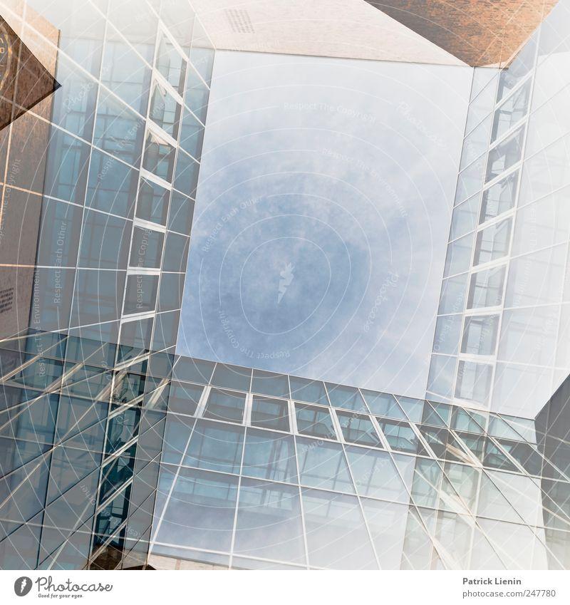 Freunde der Realität Himmel Wolken Ferne Fenster Wand Freiheit Architektur Mauer Gebäude Luft Wetter Horizont Freizeit & Hobby Ausflug Tourismus