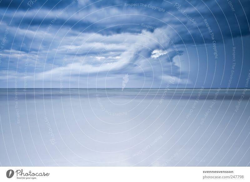 Das Meer in mir Natur blau Wolken Umwelt Küste Wetter Horizont Ostsee Gewitterwolken maritim Mecklenburg-Vorpommern Naturgewalt