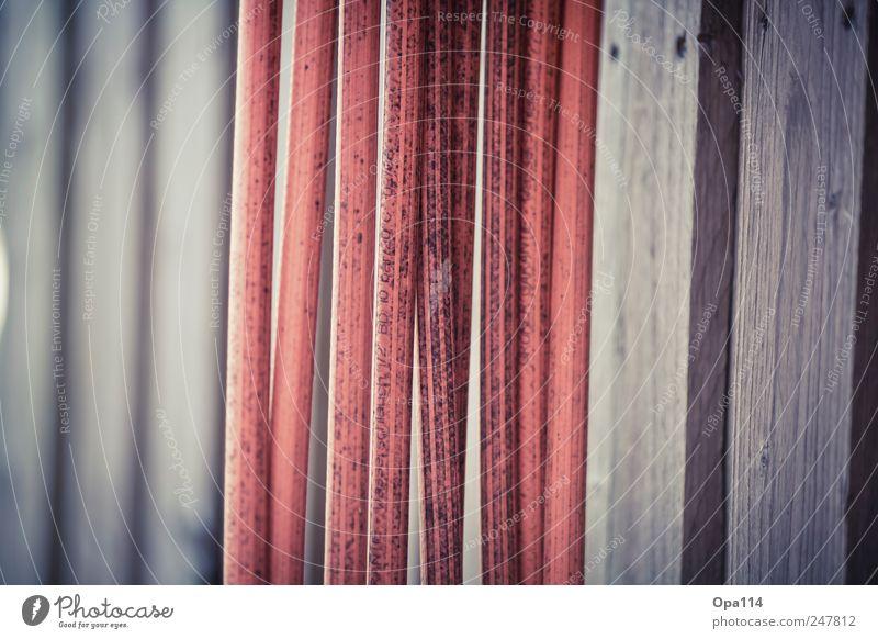 Gartenschlauch blau rot rund Kunststoff hängen