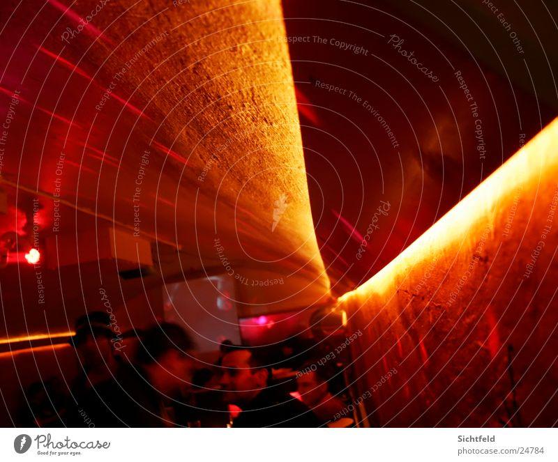 N8schicht Clubbing Erholung Wand Party Beleuchtung sitzen Bar Club Foyer Ausgang Belichtung Flirten Nachtleben clubbing Warmes Licht