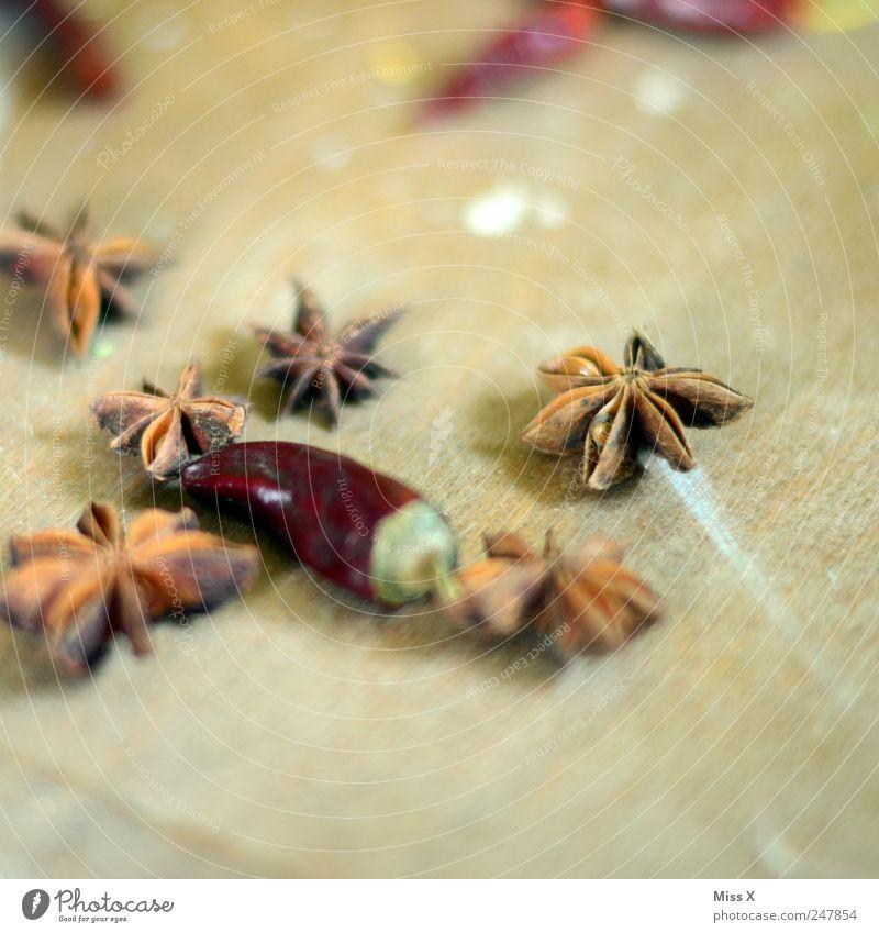 Sternanis Lebensmittel Kräuter & Gewürze Ernährung Asiatische Küche trocken Chili Zutaten Stern (Symbol) Holz Weihnachtsdekoration Dekoration & Verzierung