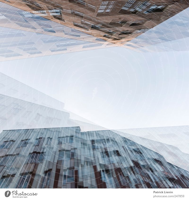 Rauschzustand harmonisch Freizeit & Hobby Tourismus Ausflug Ferne Freiheit Urelemente Luft Himmel Wolken Horizont Wetter Schönes Wetter Stadt Bauwerk Gebäude