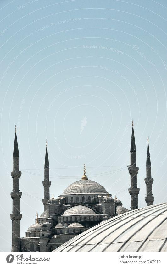 Gerne, Schatzi blau weiß Architektur grau Religion & Glaube Gebäude ästhetisch Hoffnung rund Spitze Bauwerk Denkmal historisch Wahrzeichen Hauptstadt